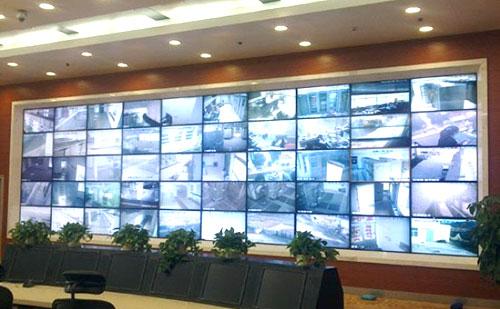 监控电视墙设计方案包含视频监控和防盗报警系统