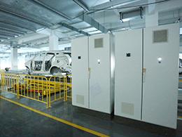 天津华泰汽车涂装线定制电气控制柜项目