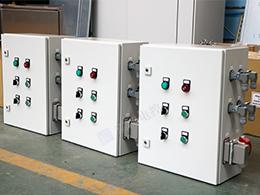 武汉二硅钢过滤机控制箱项目